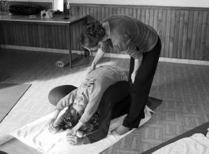 stage yoga parent-enfant, Chrstelle Simonet